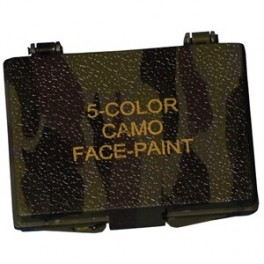 5-Color Import Camouflage Compact Face Paint