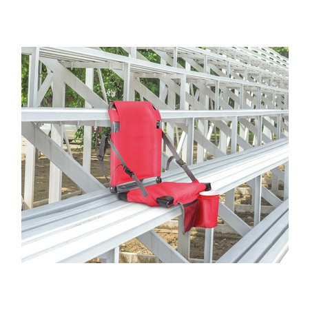 Crane Stadium Seat with backrest - Red