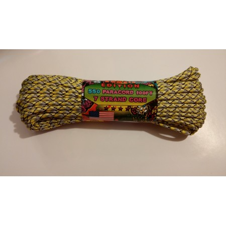 Zombie Paracord Nylon Braided Paracord Hank 550