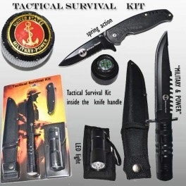 United States Military Power Tactical Survival Kit