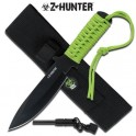 Zombie Hunter Survival Knife with Fire Starter