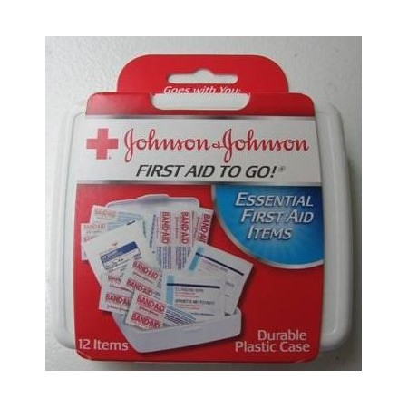 Johnson&Johnson First Aid To Go Kit 12 pc