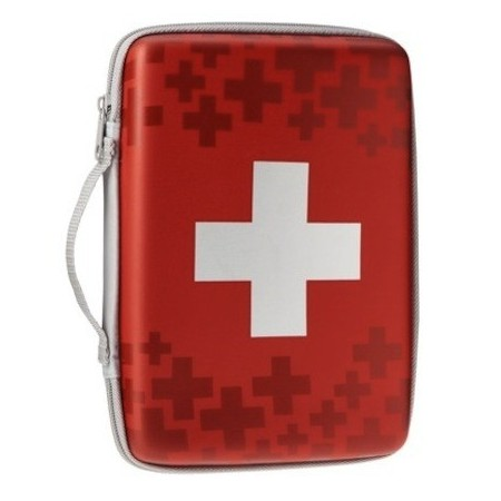 Basic portable first aid pouch