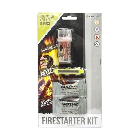 Life Line First Aid Fire Starter Kit