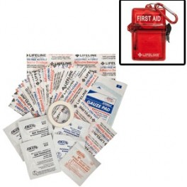 Life Line First Aid Weather Resistant First Aid Kit - 28 piece