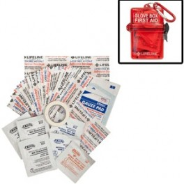 Lifeline First Aid Weather Resistant Glove Box First Aid Kit - 28 PIECE