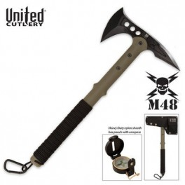 M48 Ranger Tomahawk Axe with Lensatic Compass & Sheath