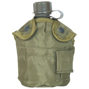(OLIVE DRAB CANTEEN COVER 1 QT)
